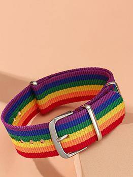 Creative Rainbow Belt Characteristic Bracelet