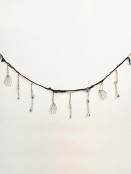 Hot Sale Halloween Haunted House Hand Bone Hanging String