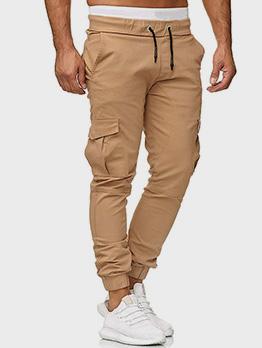 Autumn Ruched Drawstring Pencil Long Pants