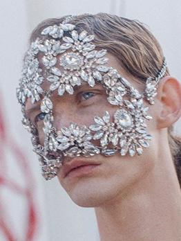 Full Rhinestone Ball Mask Accessories