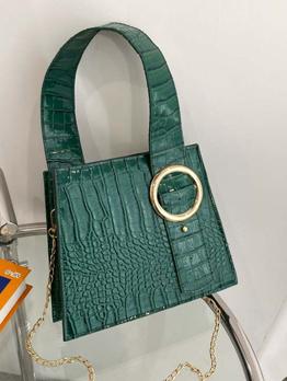 Fashion Chic Alligator Printed Tote Bag For Women