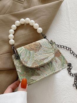 Chic Unique Faux Pearl Shoulder Bag For Women