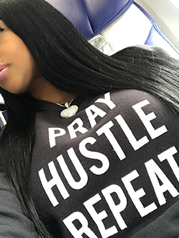 Casual Letter All-Match Long Sleeve Black Hoodies