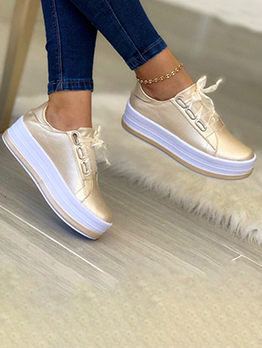 New Arrival Casual Chunky Soles Women Flats