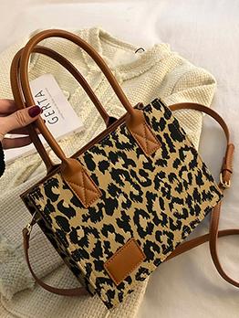 Fashion Leopard Tote Bag For Women