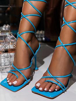 Latest Style Stylish Heeled Sandals For Ladies