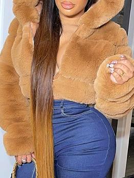 Latest Style Winter Plush Warmth Short Coat