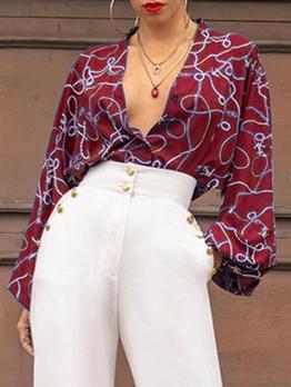 Latest Style Printed Autumn Long Sleeve Bodysuits