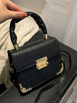 Alligator Print  Fashion Shoulder Bag Handbag For Women
