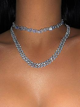 Hot Sale Adjustable Superior Quality Zircon Necklace