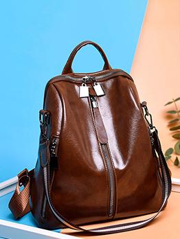Women Vintage Travel Backpack For School