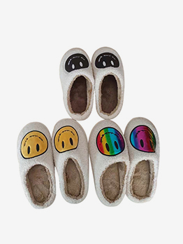Casual Winter Cute House Warmth Slip One Slippers